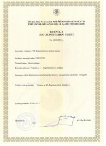 Licencija 1 001